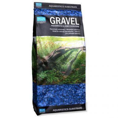Písek AQUA EXCELLENT 3-6 mm modrý (1kg)
