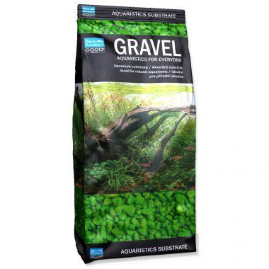 Písek AQUA EXCELLENT 3-6 mm zelený (1kg)