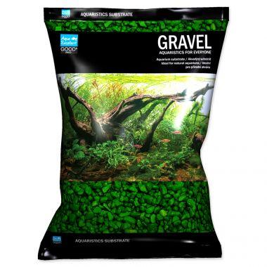 Písek AQUA EXCELLENT 3-6 mm zelený (3kg)