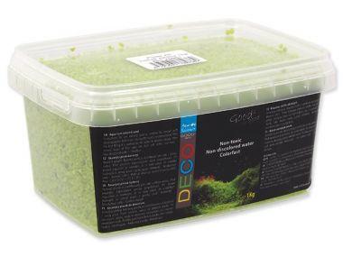 Písek AQUA EXCELLENT svítivě zelený (1kg)