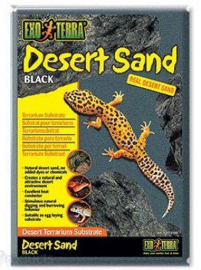 Písek pouštní černý   (4,5kg)