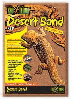 Písek pouštní červený   (4,5kg)