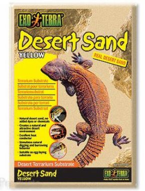 Písek pouštní žlutý   (4,5kg)