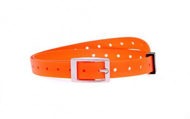 Plastový obojek oranžový, 15 mm x 70 cm
