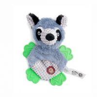 Plyšová koala s TPR packami, plyšová pískací a šustící hračka