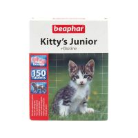 Pochoutka BEAPHAR Kittys Junior biotin (150tablet)