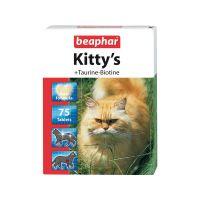 Pochoutka BEAPHAR Kittys taurin a biotin (75tablet)