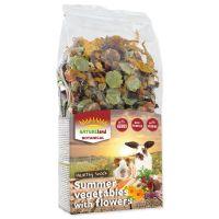 Pochoutka NATURE LAND Botanical letní zelenina s květy (100g)