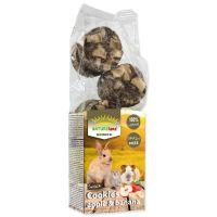 Pochoutka NATURE LAND Brunch sušenky s jablky a banány (120g)