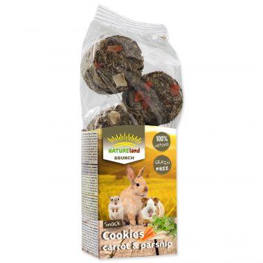 Pochoutka NATURE LAND Brunch sušenky s mrkví a pastinákem (120g)