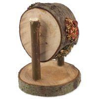 Pochoutka NATURE LAND Nibble kolo dřevěné plněné (200g)