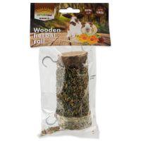 Pochoutka NATURE LAND Nibble válec s bylinkami (120g)