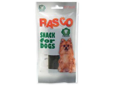 Pochoutka RASCO Dental kříž s chrolofylem (35g)