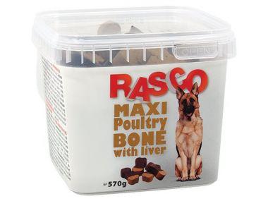 Pochoutka RASCO kost drůbeží s játry (570g)