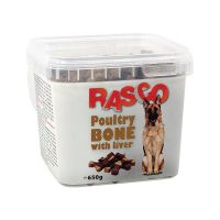 Pochoutka RASCO kost drůbeží s játry (650g)