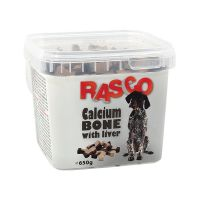 Pochoutka RASCO kost kalciová s játry (650g)