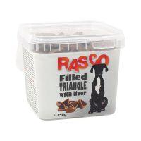 Pochoutka RASCO plněný trojúhelníček s játry (750g)