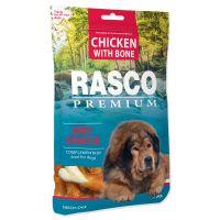 Pochoutka RASCO Premium kosti obalené kuřecím masem (80g)