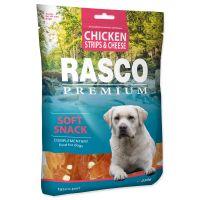 Pochoutka RASCO Premium proužky kuřecí se sýrem (230g)