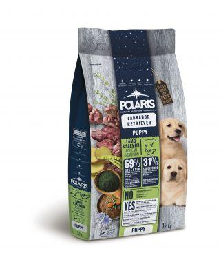 Polaris GF pes Puppy Labrador jehně, losos 12kg