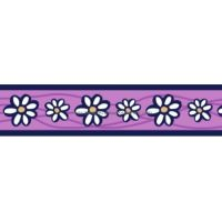 Postroj RD 12 mm x 30-44 cm - Daisy Chain Purple