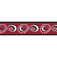 Postroj RD 25 mm x 56-80 cm - Cosmos Red