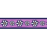 Postroj RD 25 mm x 56-80 cm - Daisy Chain Purple