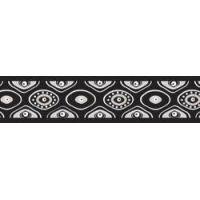 Postroj RD 25 mm x 56-80 cm - Snake Eyes Black