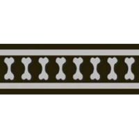 Postroj RD 25 mm x 71-113 cm - Bones Rfx- Černá