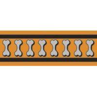 Postroj RD 25 mm x 71-113 cm - Bones Rfx- Oranžová