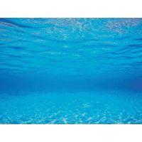 Pozadí sladkovodní oboustranné modré  50cm x 100cm