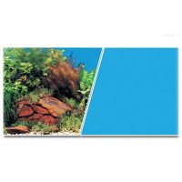 Pozadí tapeta MARINA oboustranné rostliny / modré  1m