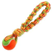 Přetahovadlo DOG FANTASY barevné + tenisák 28 cm (1ks)