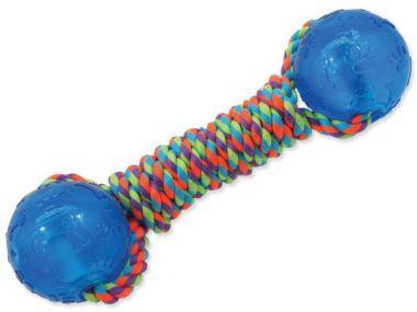 Přetahovadlo DOG FANTASY činka gumová modrá 30 cm (1ks)