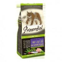 PRIMORDIAL Krůta & Sleď pro kastrované kočky / 2kg