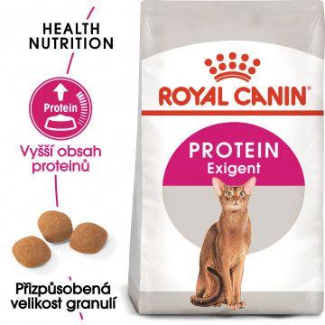 Royal Canin Protein Exigent granule pro mlsné kočky 0,4kg