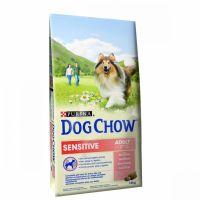 PURINA dog chow Adult Senzitive losos s rýží 14 kg
