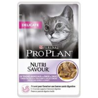 Purina Pro Plan CAT DELICATE Krůta kaspička   10 x 85 g