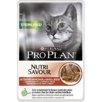 Purina Pro Plan CAT STERILISED Hovězí kapsička 10 x 85 g