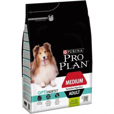 Purina Pro Plan Medium Adult Sensitive Digestion s jehněčím 3 kg