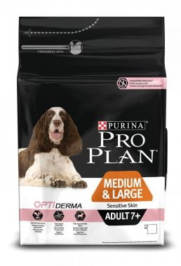 Purina Pro Plan Medium & Large Adult 7+ Sensitiver Skin 3kg