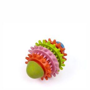 Ragby Dental 11 cm, odolná (gumová) hračka z tvrdé gumy