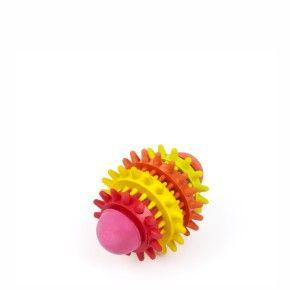 Ragby Dental Mini 8 cm, odolná (gumová) hračka z tvrdé gumy