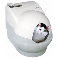 Robotická toaleta CatGenie 120 +  - s poklopem