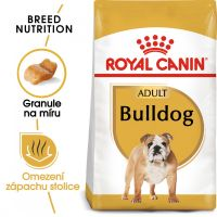 Royal Canin Bulldog Adult granule pro dospělého buldoka 3kg