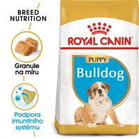 Royal Canin Bulldog Puppy granule pro štěně buldoka 3kg