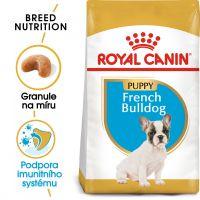 Royal Canin French Bulldog Puppy granule pro štěně francouzského buldočka 3kg