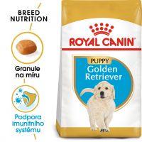 Royal Canin Golden Retriever Puppy granule pro štěně zlatého retrívra 12kg