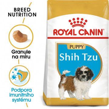 Royal Canin Shih Tzu Puppy granule pro štěně Shih Tzu 1,5kg