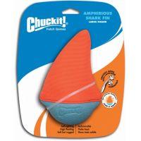 Rybí ploutev - oranžová - Large